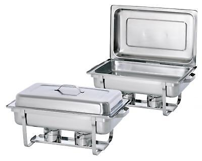 Bartscher 500486 - Twin Pack 2 Chafing Dishes 1/1 GN, H 65 mm