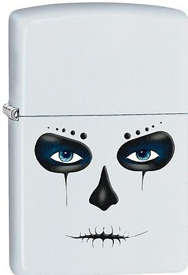 Zippo 2015 Catalog Skull Mask Celebration of Day of the Dead Lighter 28828 *NEW*