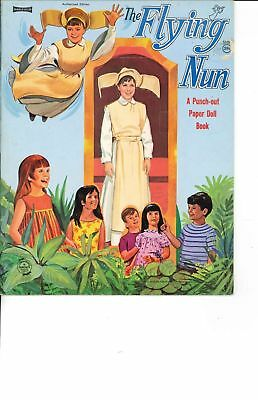Vintge Uncut Flying Nun Paper Doll Cute Hd~Laser Reproduction~Lo Price~Hi Qual