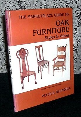 The Marketplace Guide to Oak Furniture by Peter Blundell HC 1980 Illustrated