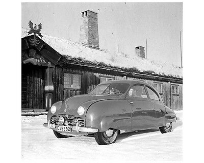 1947 Saab 92 Prototype Factory Photo ca2043