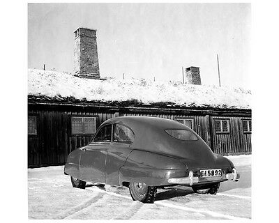 1947 Saab 92 Prototype Factory Photo ca2044