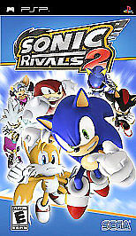 Sonic Rivals 2 UMD PSP GAME Sony PLAYSTATION PORTABLE
