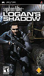 Syphon Filter Logan's Shadow UMD PSP GAME Sony PLAYSTATION PORTABLE
