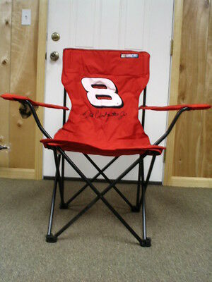 Dale Earnhardt Jr #8 Budweiser NASCAR Folding Chair!  ~~ NEW! ~~