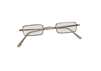 Square Santa Claus Eyeglasses Glasses Adult Costume Accessory NEW Ben Franklin