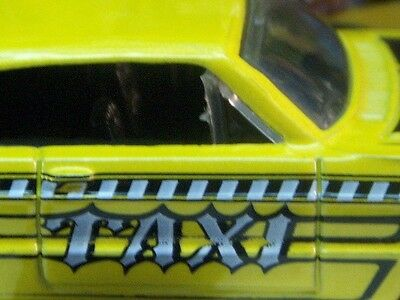 '07 HOT WHEELS 1964 CHEVY IMPALA TAXI NEW MINT LOOSE 1:64 SCALE