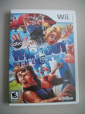 Wipeout The Game Complete Nintendo Wii Wipe Out ABC