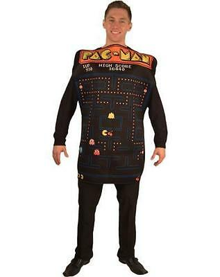 InCogneato Pac-Man Video Game Screen Poncho Adult Costume Standard