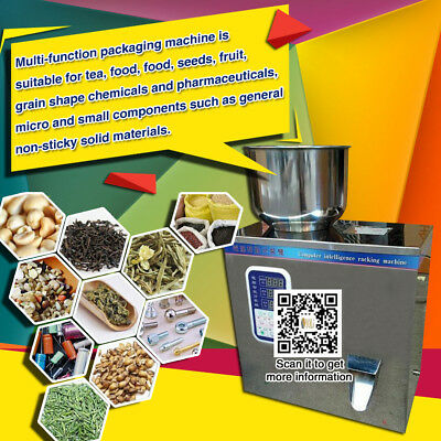 commercial Powder Weighing And Filling Machine, Small Dry Powder Filling, 2-100g