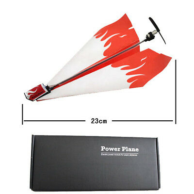 Power up electric paper plane airplane conversion kit fashion educational toys