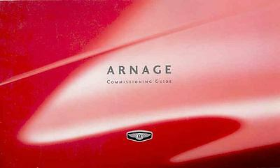 2000 Bentley Arnage Options Price List Brochure mx3766-HDNG2B