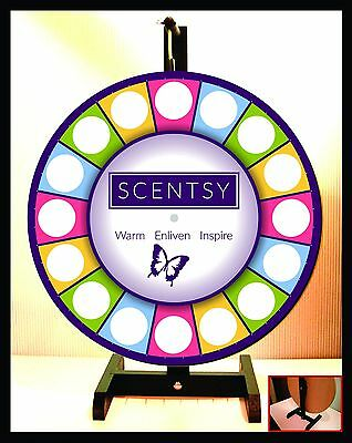 """Prize Wheel 18"""" Spinning Tabletop Portable Scentsy"""