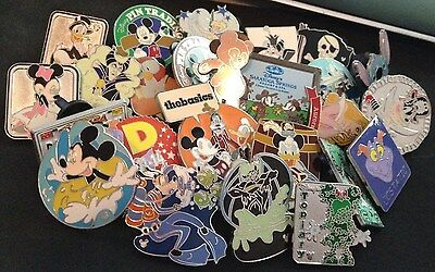 Disney Pin Lot of 25 Trader Pins All Authentic Perfect for Trading in the parks