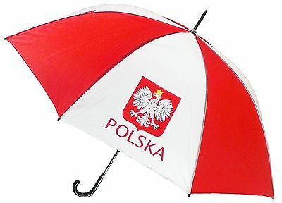 Poland Eagle Crest Parasol Polish Flag Polska Umbrella