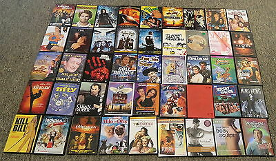 50 DVD's ~ Untested Bulk Lot ~ As Is ~ Version 3