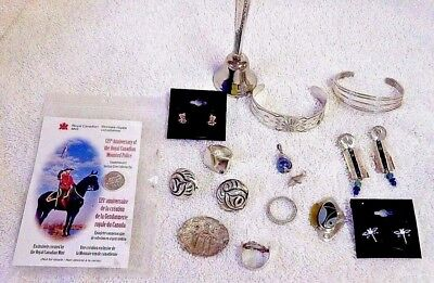 Lot Of Jewelry - Lots Of Sterling Silver - Some Vintage - Coro, Etc - 15 Pieces