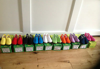 New Boxed Flossy Casual Pumps Shoes Various Colours size Infant Uk 6 Eu 23 145mm