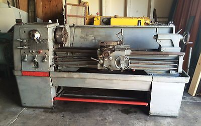 """Clausing Colchester Engine Lathe 15"""" x 50"""" Geared Head"""