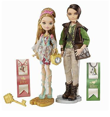 Ever After High Ashlynn Ella & Hunter Huntsman Dolls