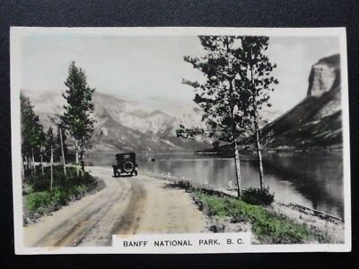 Single No.20 Banff National Park. Bt Columbia COLONIAL SERIES, RP Cavanders 1925
