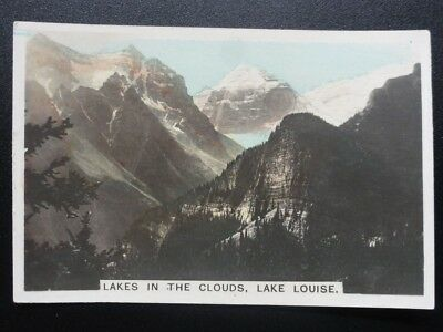 Single No.6 Canada Lake Louise COLONIAL SERIES Real Photo Cavanders 1925