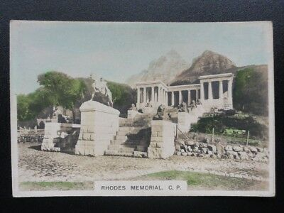 Single No.2 Rhodes Memorial Rondebosch COLONIAL SERIES Real Photo Cavanders 1925
