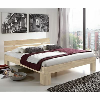doppelbett 200x200 massivholz inklusive lattenroste eur 300 00 picclick de. Black Bedroom Furniture Sets. Home Design Ideas