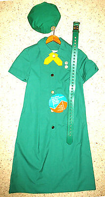 Senior Girl Scout UNIFORM 1971-80 NEW w/tag  RARE Collector's GIFT Display