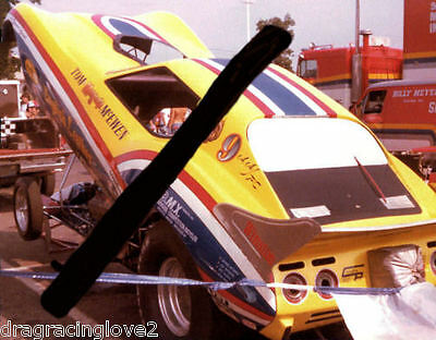 "Tom ""Mongoose"" McEwen 1977 ""English Leather"" Corvette NITRO Funny Car PHOTO!"