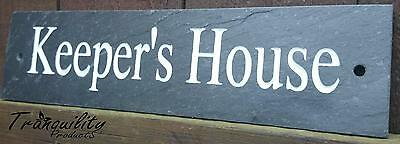 Deep Engraved Natural Slate House Name Number Sign Plaque 35a