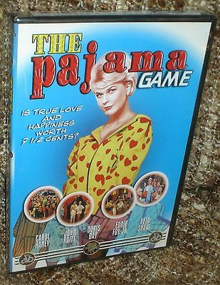 THE PAJAMA GAME DVD, NEW AND SEALED, THE CLASSIC MUSICAL COMEDY WITH DORIS DAY