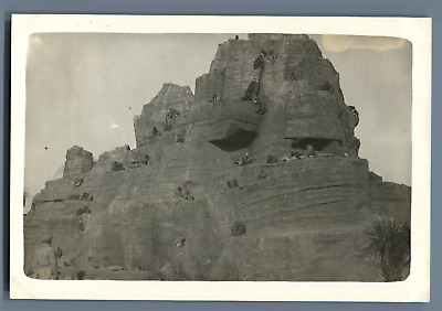 France, Exposition Coloniale Internationale de 1931. Les Singes  Vintage silver