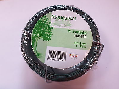 Moncaster Garden Wire 1.2mm 50m Flower Arrangement Florist Support Growth #8F37
