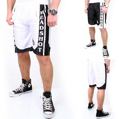 Headshot Design Capri Shorts Herren -Authentic Brand- Sport Kurze Bermuda Hs-200