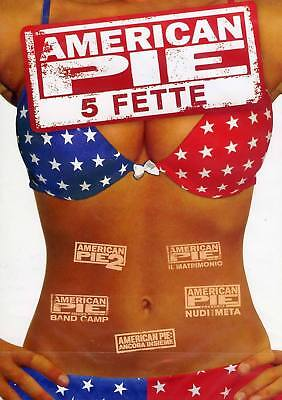 Dvd American Pie: New Collection 1-5 (5 DVD) .......NUOVO