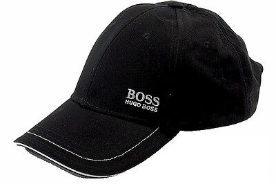 Hugo Boss Cap 1 Cotton Twill Adjustable Baseball Hat (One Size Fits Most)