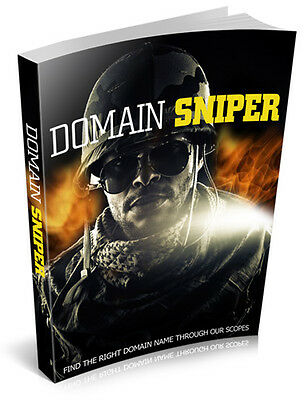 Public Domain Sniper Helps You Make The Easiest And Fastest Internet Income (CD)