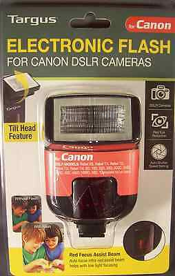 Targus TG-DL20C Electronic Flash for CANON DSLR Camera NEW