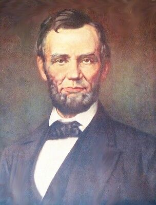 Lincoln by Atkinson Fox vintage art