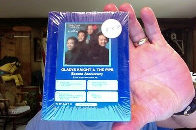 Gladys Knight & the Pips- Second Anniversary- new/sealed 8 Track tape