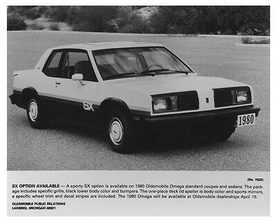 1980 Oldsmobile Omega Sporty SX Automobile Factory Photo ch7237