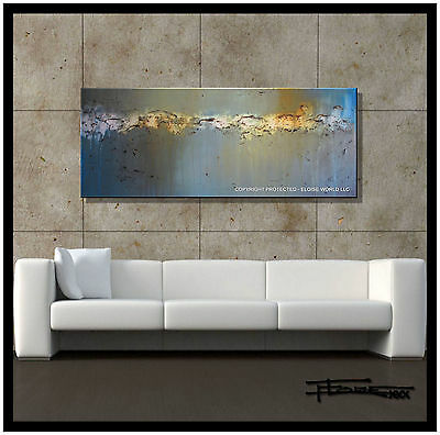 MODERN ABSTRACT CONTEMPORARY CANVAS PAINTING          ELOISExxx