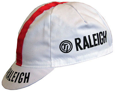 RALEIGH RETRO CYCLING BIKE CAP - Vintage - Fixed Gear - Made in Italy
