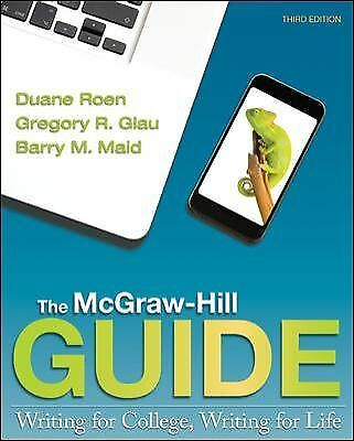 NEW - Free EXPRESS Ship - The McGraw-Hill Guide : Writing for College (3 Ed)