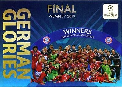 13/14 Panini Adrenalyn Champions League EXCLUSIVE German Glories Limited Edition