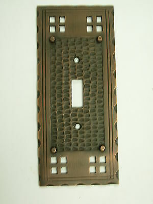 Single toggle Mission Pacifica Switch Plate