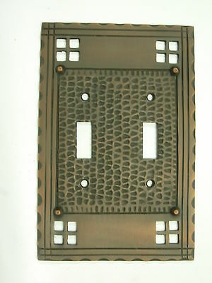 Double toggle Mission Pacifica Switch Plate