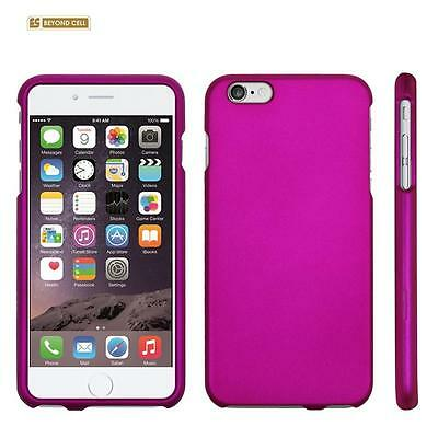 "for APPLE iPhone 6 PLUS 5.5"" PINK HARD SKIN COVER CASE + CLEAR SCREEN PROTECTOR"