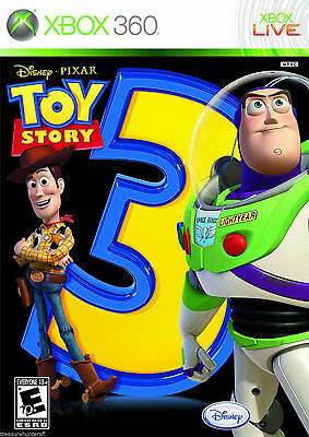Toy Story 3 The Video Game Xbox 360 NEW